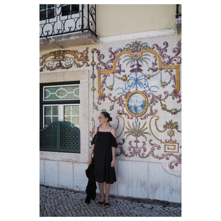 Hello from my happy place lisboa tiles portugal