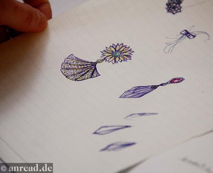 Drawing by Eri Tomita (Foto: Anna Pietschmann
