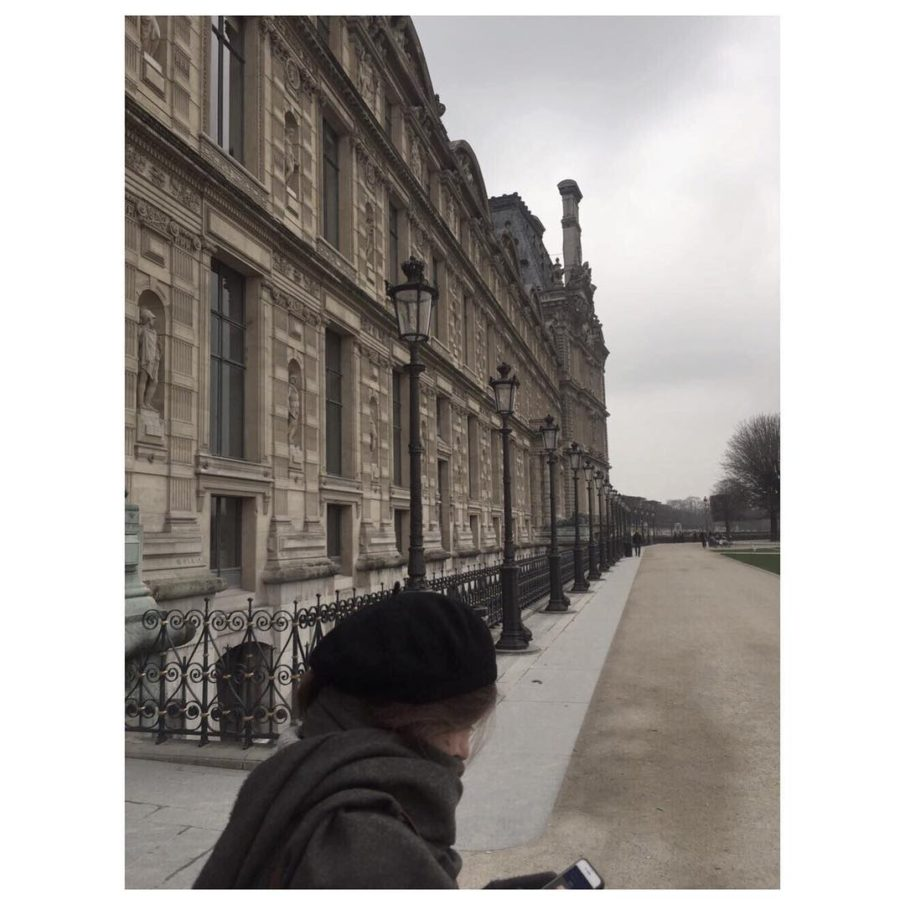 Some weeks ago in Paris Same weather tmb