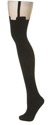 Henry Holland Suspender-Tights via Topshop