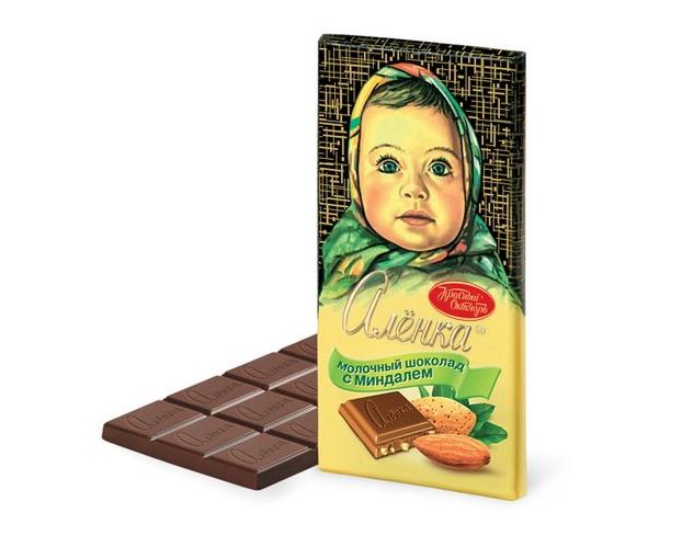 """Aljonka"" chocolate via Alibaba"