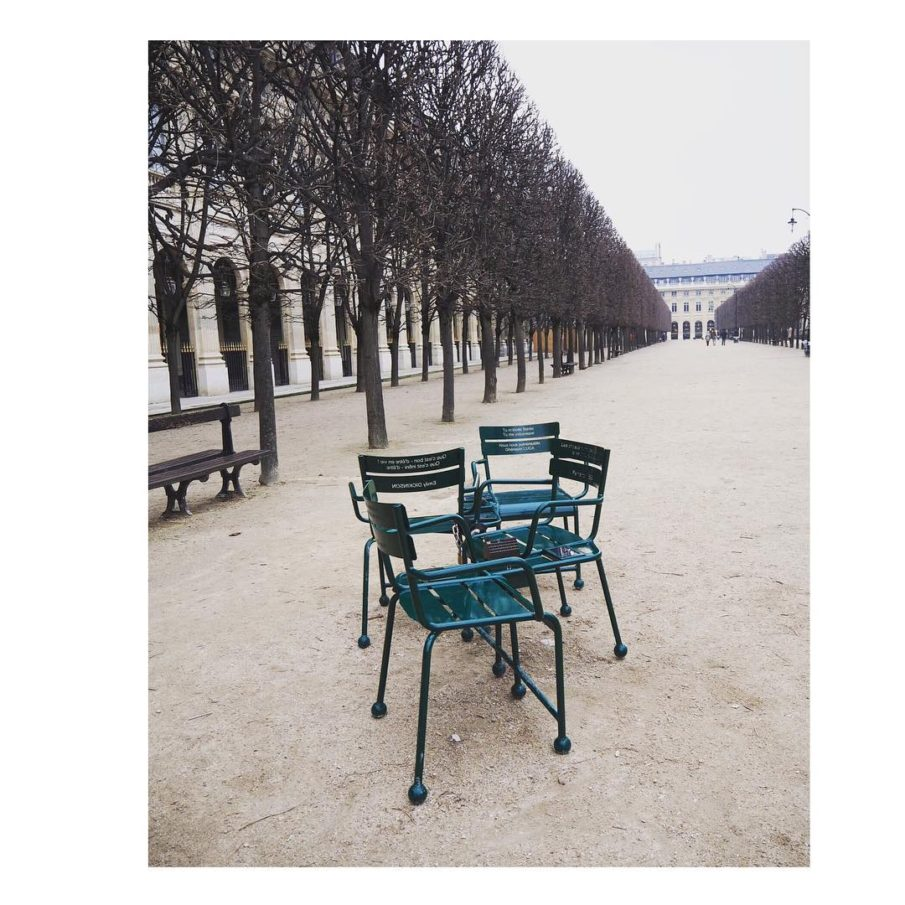 Im Winterschlaf  paris chairs hiver