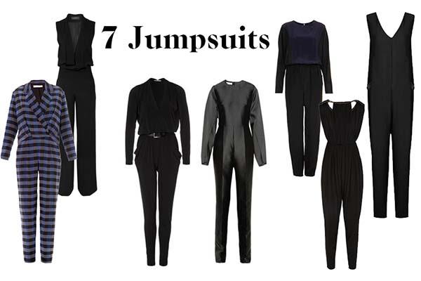 7 Jumpsuits