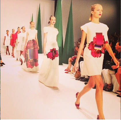 Carolina Herrera. Photo: Instagram/fashionkolik1