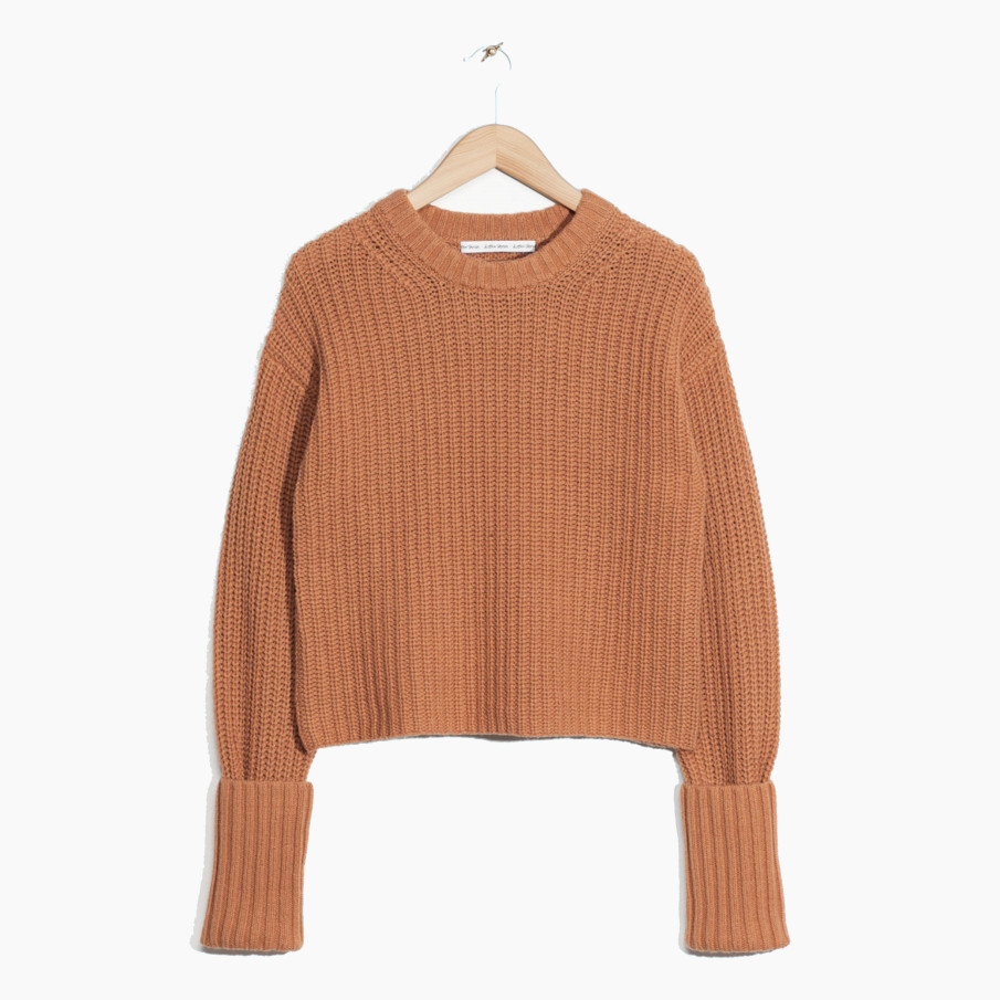 Cropped Wool Sweater von &Other Stories, um 75 Euro