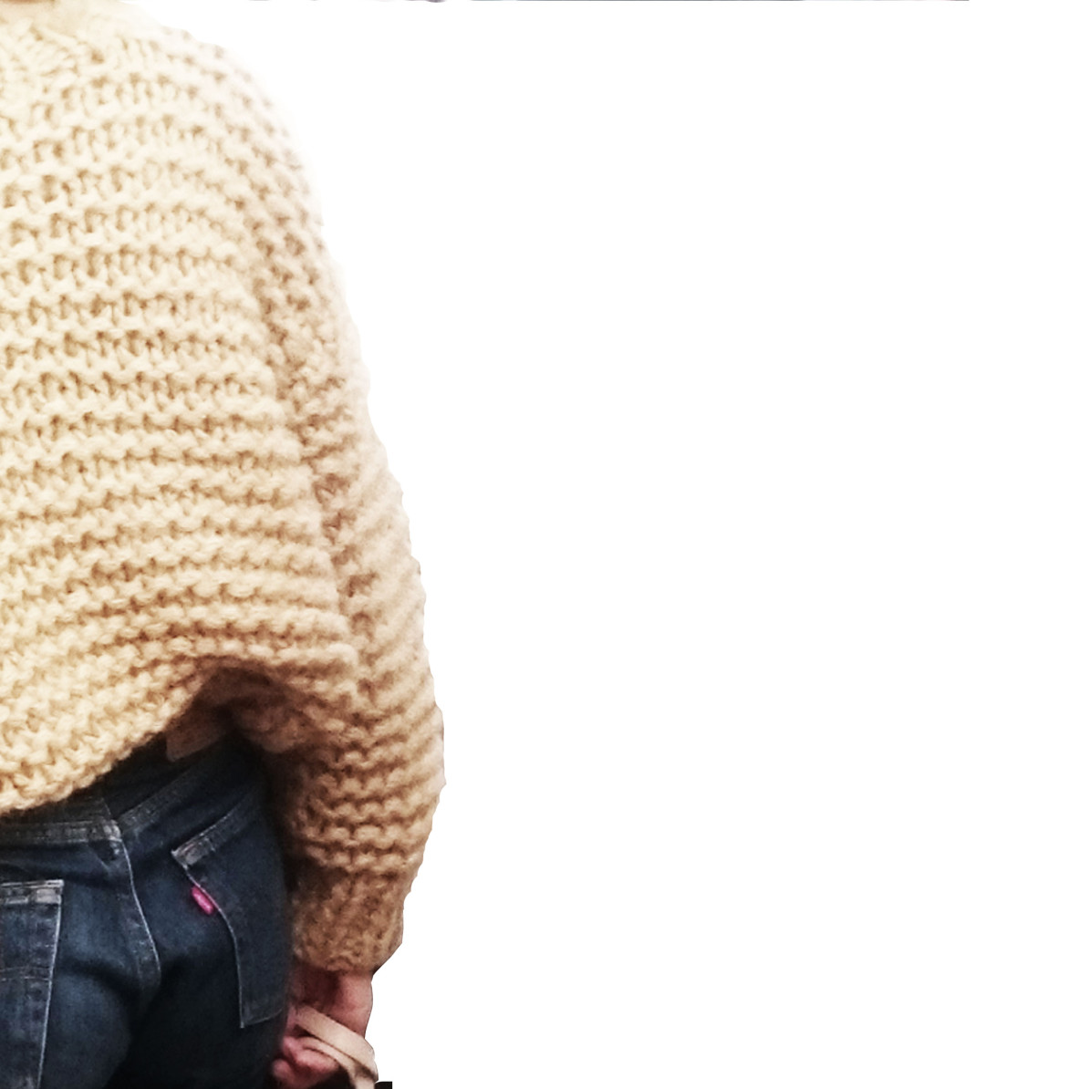 Levis 501 plus Knit Sweater