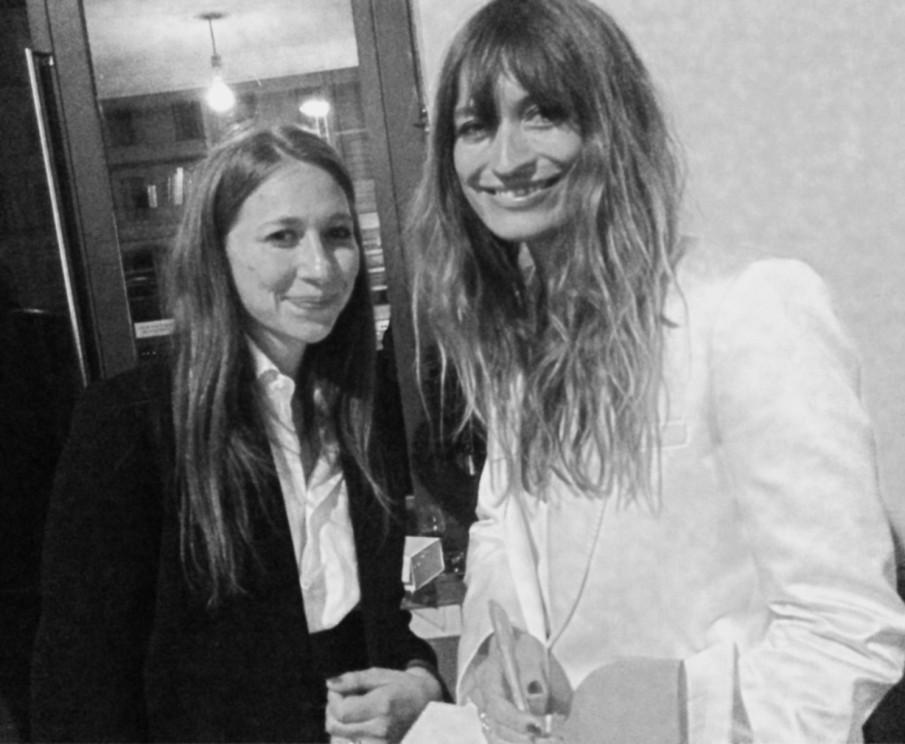 Anna Pietschmann und Caroline de Maigret