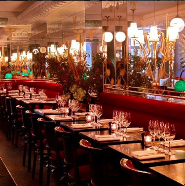 Die Brasserie des Thoumieux in Paris