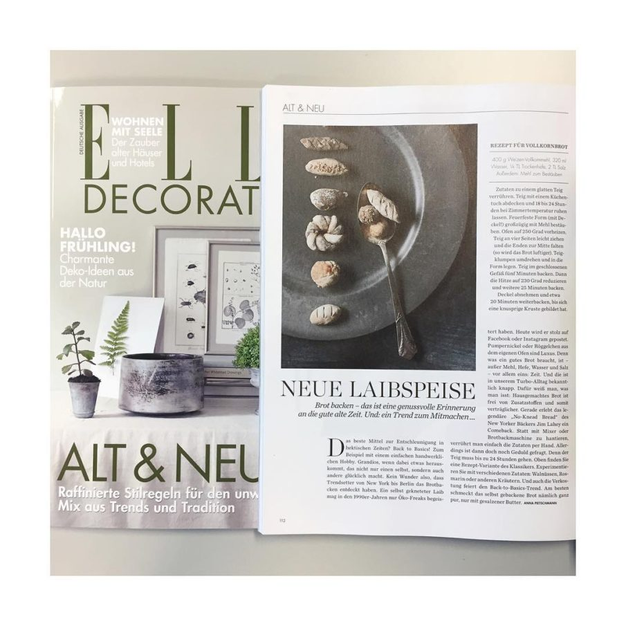 In the new issue of elledecorationgermany I write about thehellip