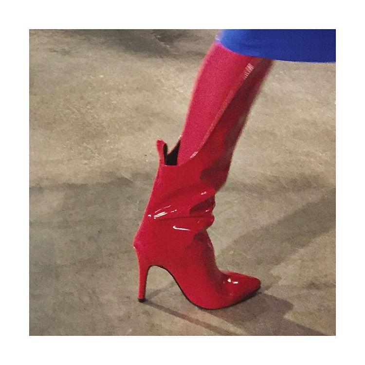 kinky boots by Tamuna Ingorokva mbfashionweektbilisi shoes tamunaingorokva