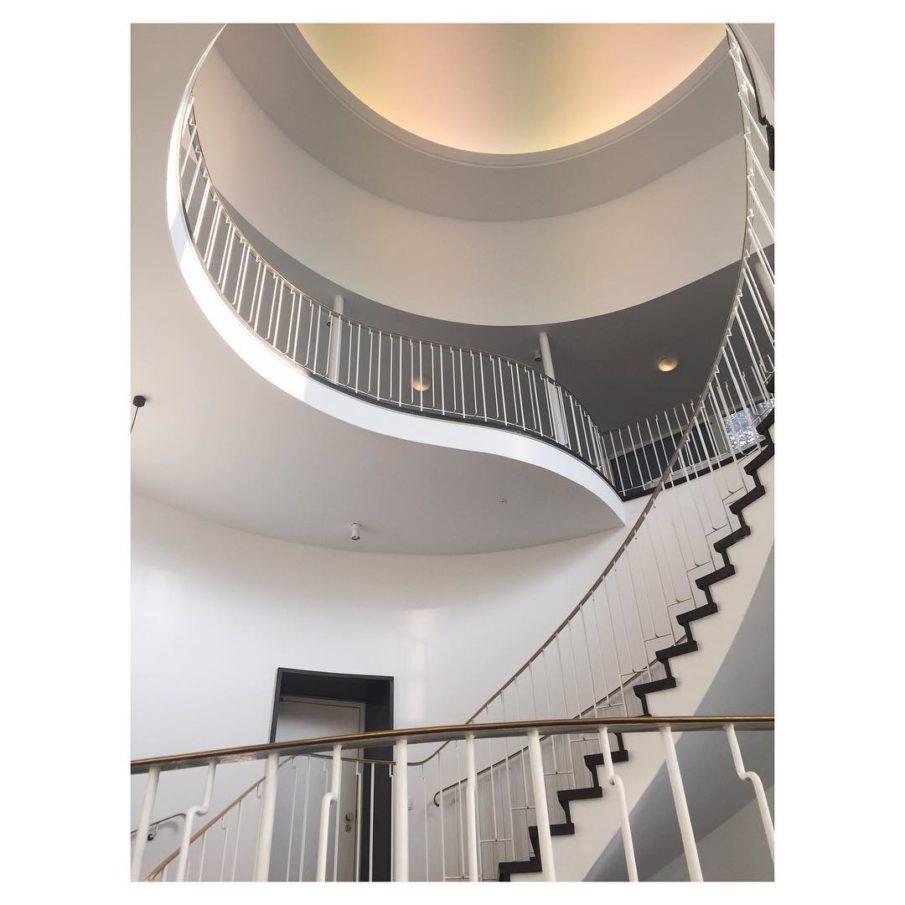 Lido Malkasten stairs duesseldorf architecture