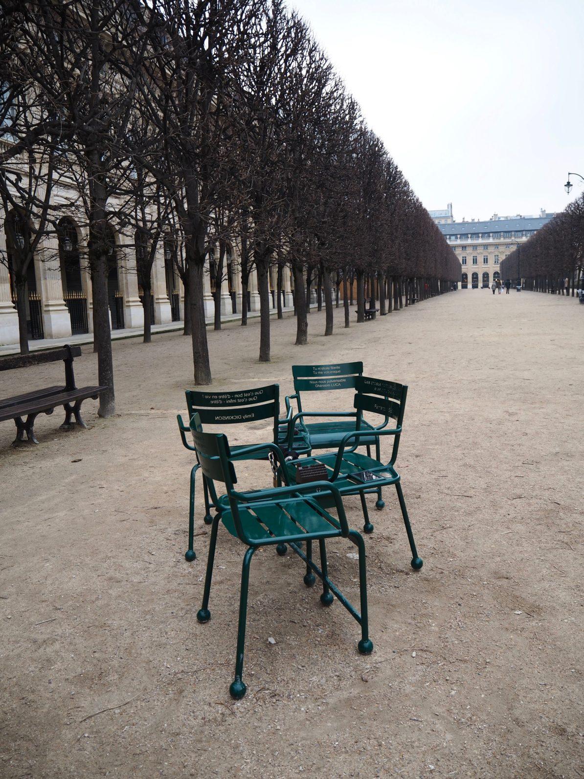 Der Jardin des Tuileries